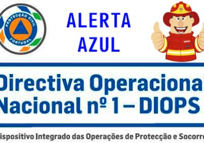 AZUL – Estado ALERTA Especial – PROLONGADO/MANUTENÇÃO