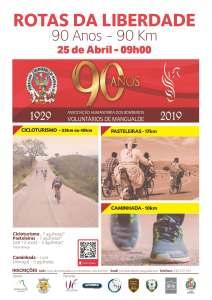 Cicloturismo - Rotas da Liberdade - 90 ANOS/ 90 KMs @ BV Mangualde | Mangualde | Portugal