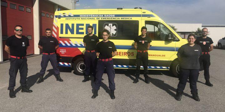 Formação – UFCD8530-UFCD 8531- Tripulante de Ambulância de Transporte