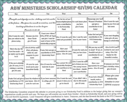 Giving for Scholarship 2016