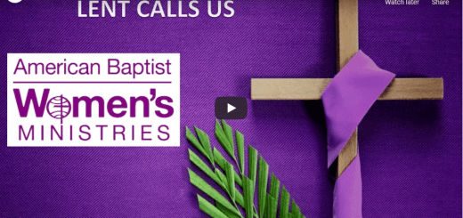 screenshot of the YouTube video Lent Calls Us
