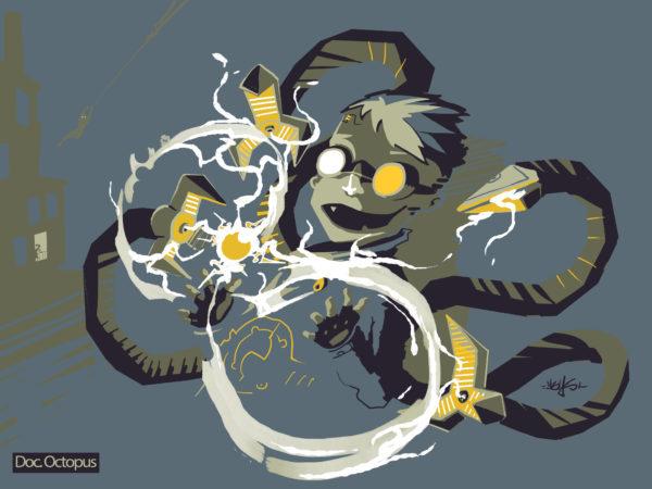Dr octopus – marel fanart