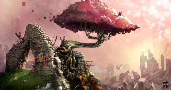 décors apocalypse – illustration concept-art
