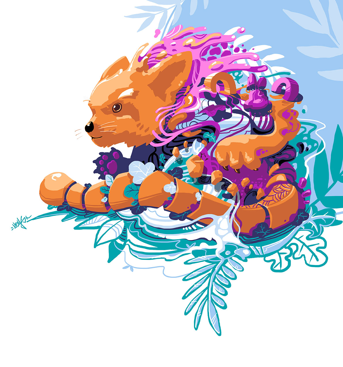 abys- da illustrator-lyon metaflaunes animal