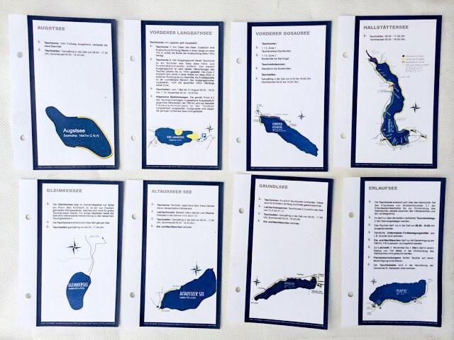 Clubartikel Logbuch Seenkarten