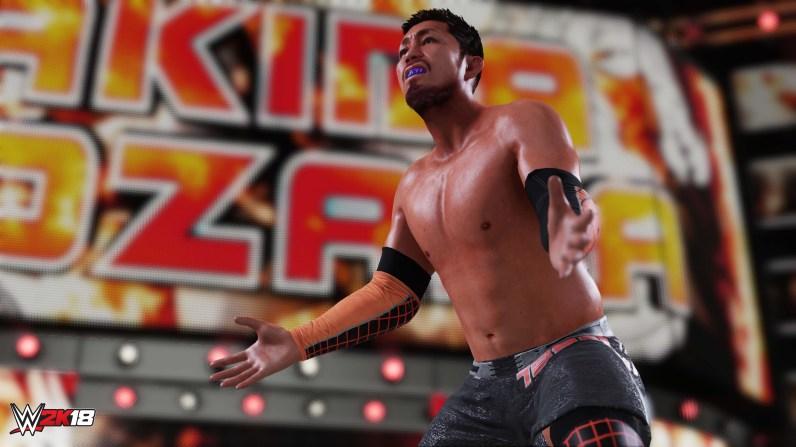 WWE2K18 01 Akira Tozawa