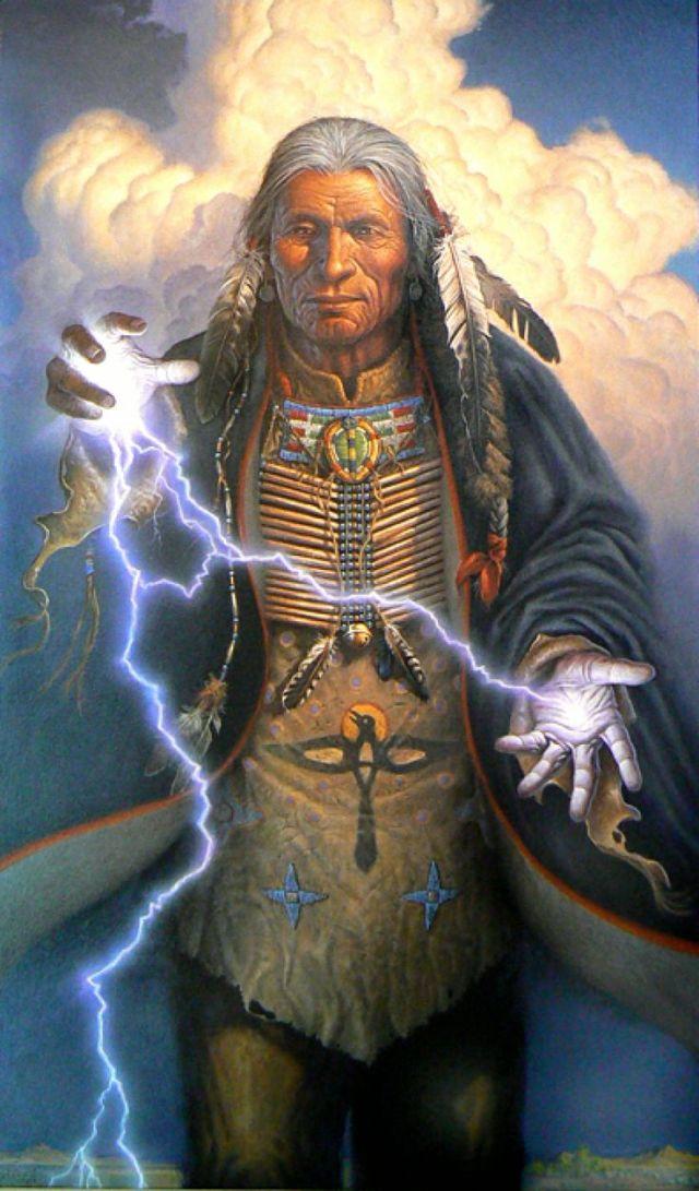 Shaman lightning_Charles Frizzell