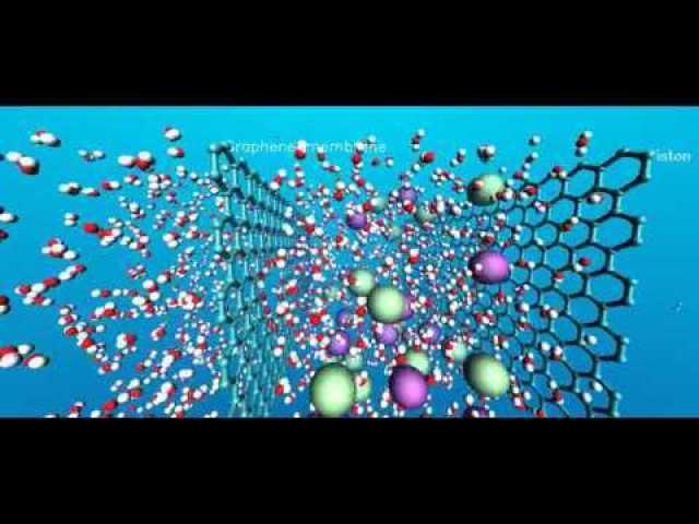 nanoporous graphene membranes