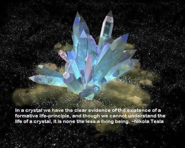 tesla crystals