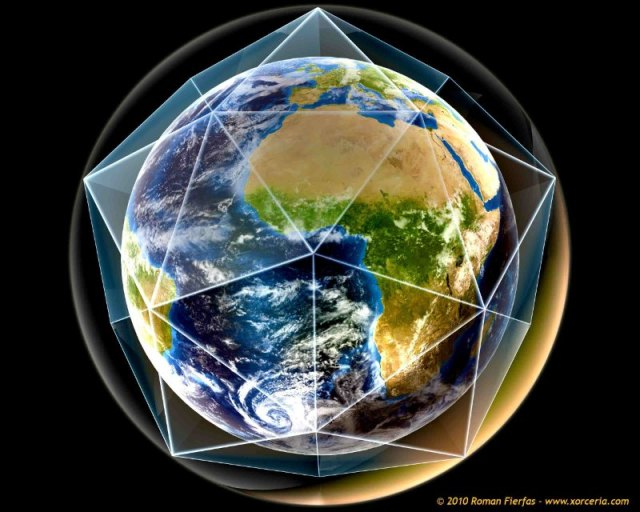 Dodecahedron Earth