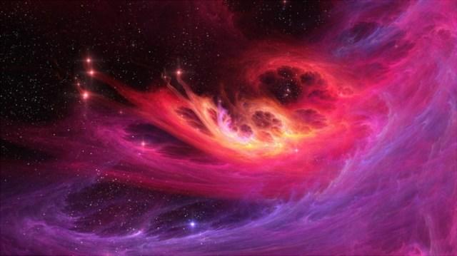pink nebulae