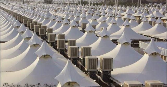 saudi-arabia empty tents