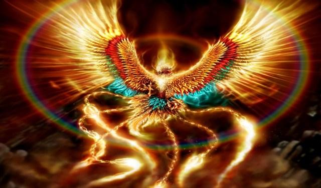 golden rainbow phoenix