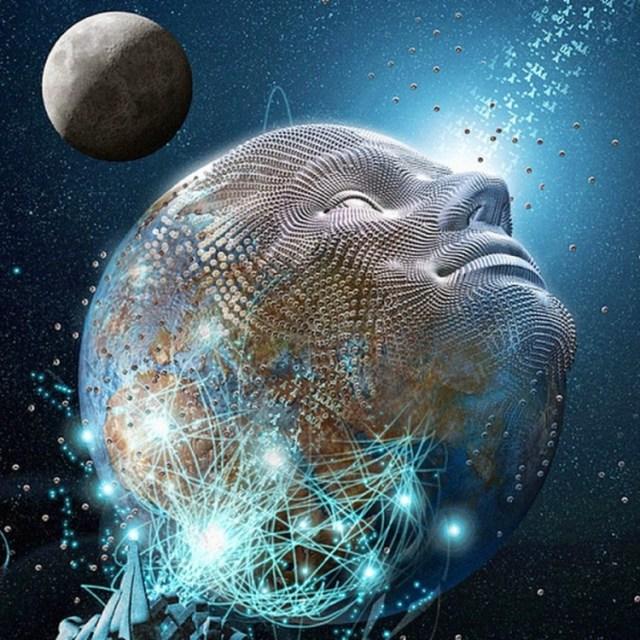 Earth face transcending