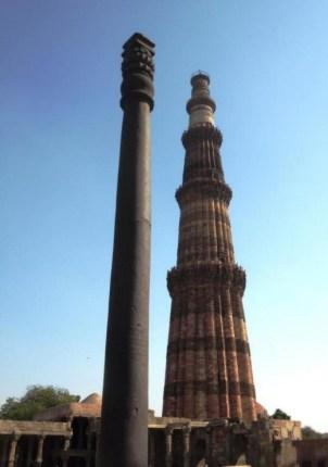 New Delhi Iron Pillar-tower