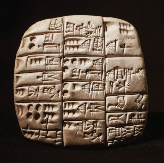 cuneiform sumerian