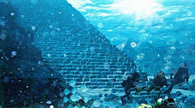 underwater pyramid azores