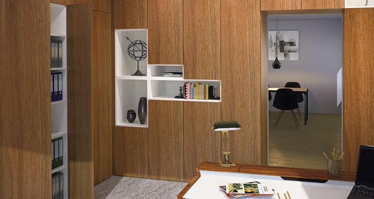 mobilier de bureau sur mesure