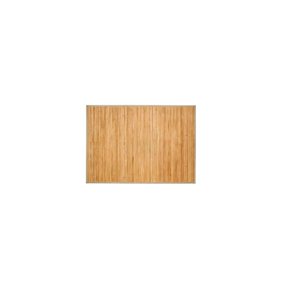 tapis latte de bambou naturel 120 x 170 cm