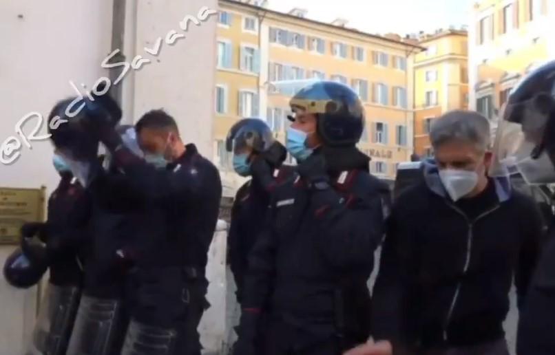 protesty itálie