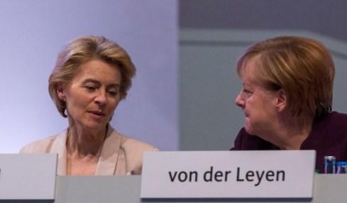 Merkelová Biontech vakcíny