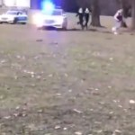 německá policie bez masky