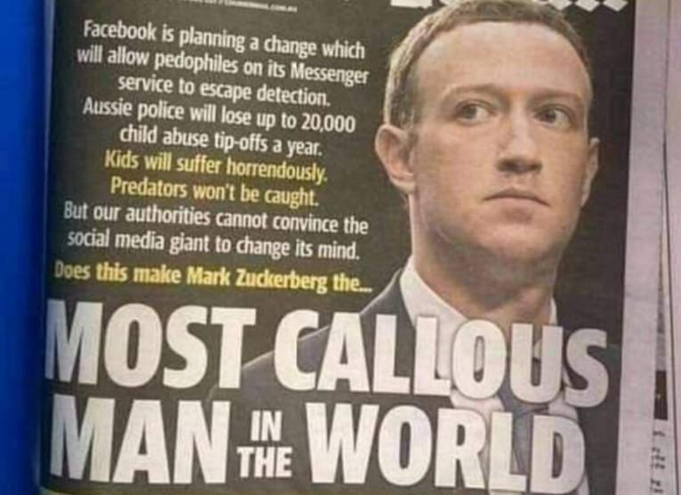 facebook pedofil