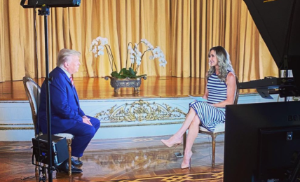 rozhovor s trumpem