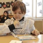 testování dětí školy