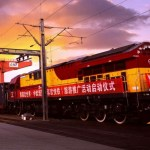 čína vlak bri