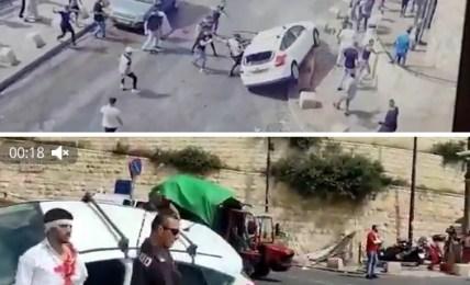 jeruzalém střety