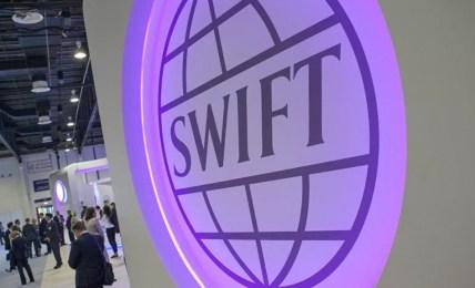odpojení swift rusko