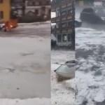 bouřky evropa