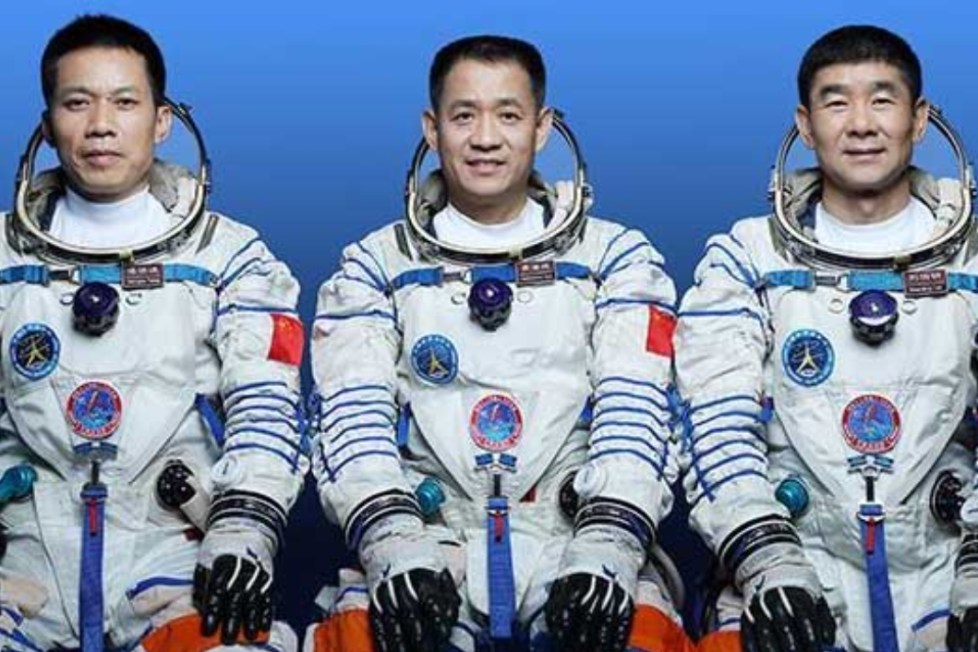 čína astronauté
