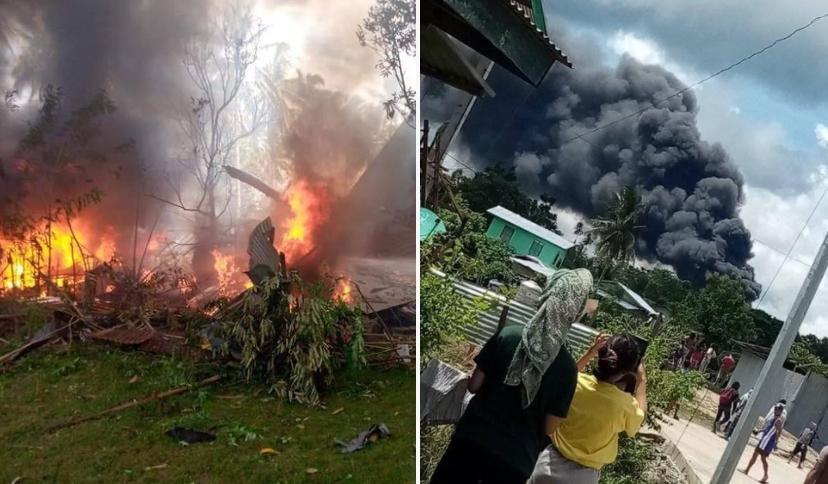 filipíny havárie letadla