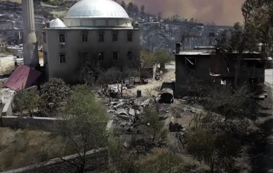turecko požár
