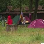 migranti tábor