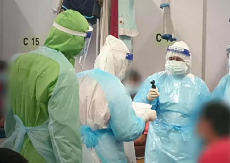 thajsko covid nemocnice