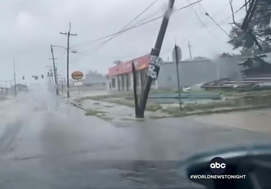 hurikán louisiana
