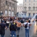covid pas protest itálie