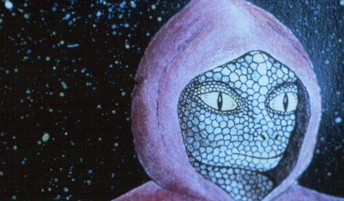 vesmírný ještěr reptilián