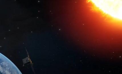 družice slunce