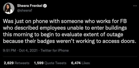 zaměstnanci facebook