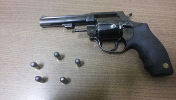 Polícia Militar prende jovem portando revólver no Parque da Maternidade