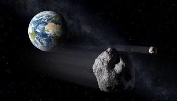 Terra sofre ameaça potencial de impacto de 500 asteroides