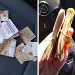 Servidora do TJ encontra dinheiro, entrega em delegacia e donos são localizados