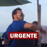 Vídeo mostra condutor de BMW que matou mulher curtindo em praia de Fortaleza