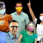 """Novatos, """"medalhões"""", sem votos e enrolados com a justiça: conheça os 7 candidatos a vice de Rio Branco"""