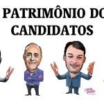 """Jarbas é o mais rico, Bocalom é milionário, Socorro é a """"mais pobre"""" e Duarte triplica patrimônio em 4 anos"""