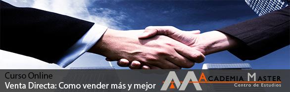 Curso Online Venta Directa Como Vender Mas y Mejor Academia Master Informatica Marbella-Malaga